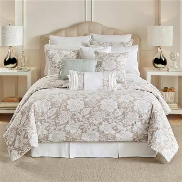 nellie bedding collection croscill floral neutral styling bedding croscill