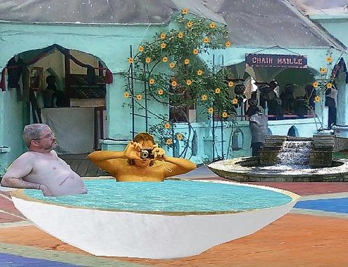 b & s fantasy village in tub