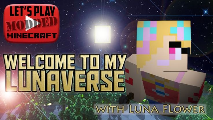 Let's Play Modded Minecraft - Welcome to the Lunaverse Ep 8 , Wheat Farm