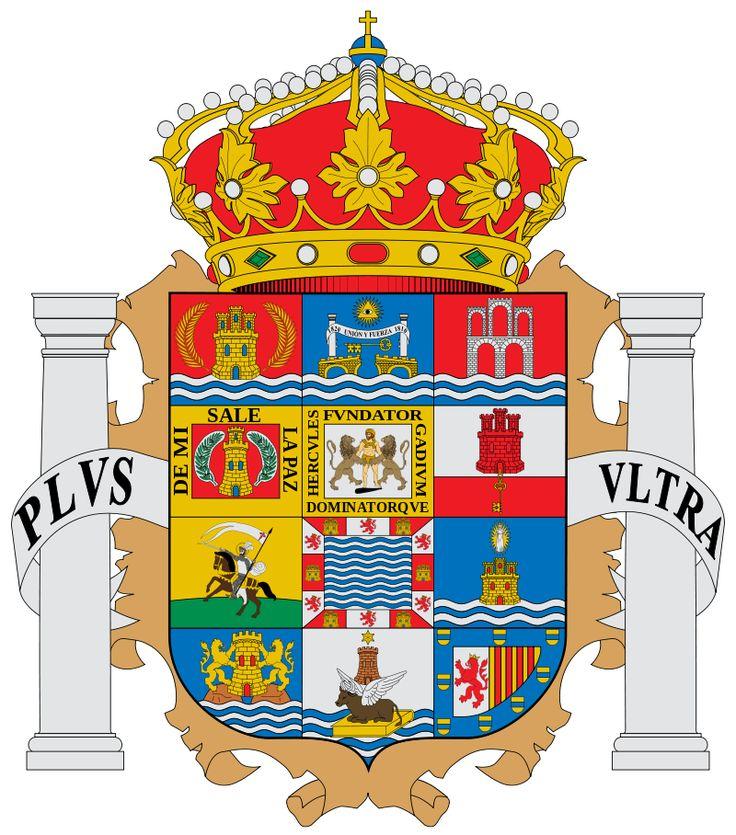 Provincia de Cádiz (Andalucía), España, Capital: #Cádiz  (L2107)