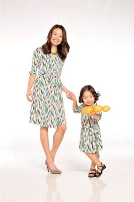 Matching Mother And Daughter Pretty Dress Perfect Mother
