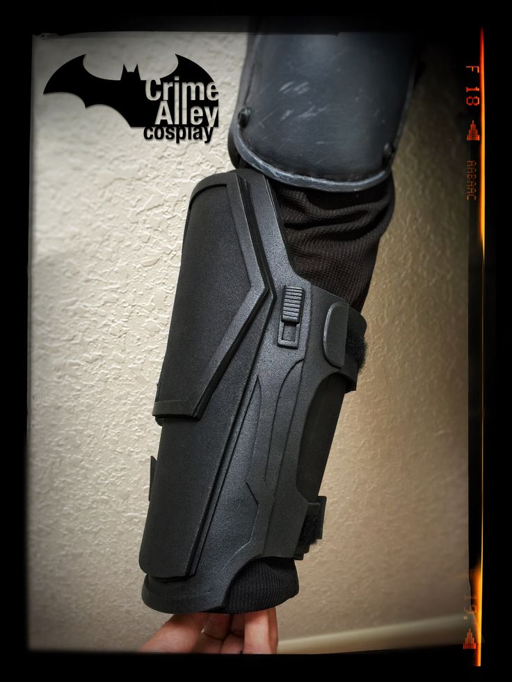 Batman Arkham Origins inspired Gauntlets on Etsy.