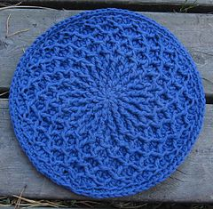 Ravelry: crochet potholder What if you just kept going?...could it become an afghan?