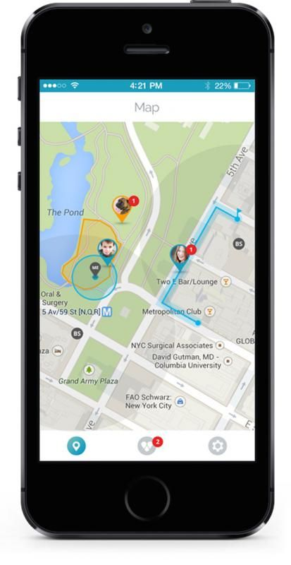 Findster GPS tracking system for kids and pets. How brilliant is this?