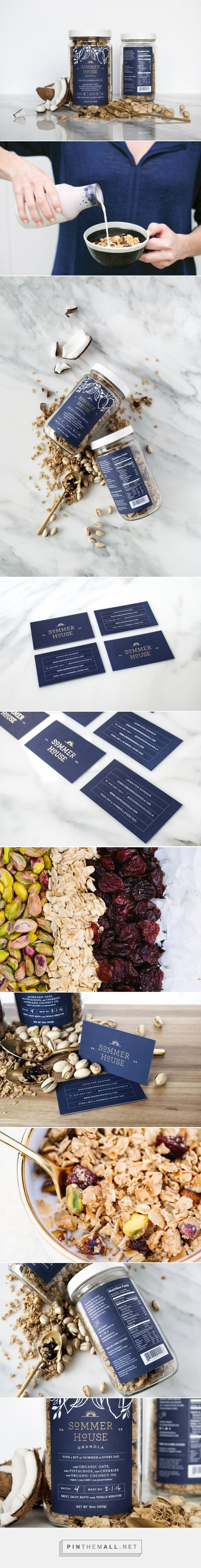 Sommer House Granola Branding and Packaging by Project M Plus | Fivestar Branding Agency – Design and Branding Agency & Curated Inspiration Gallery