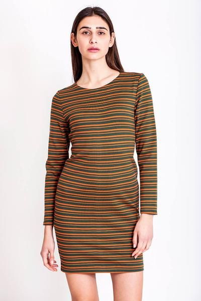 SALES - now €75.00 was €150.00.   Short striped sexy back dress by Chicks on Chic