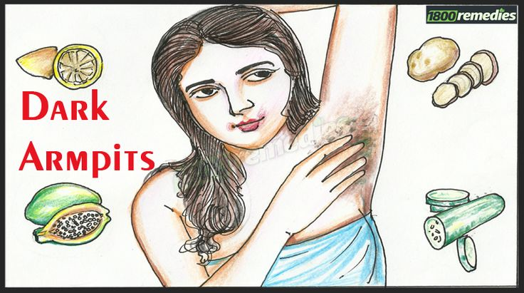 Dark Armpits can stop you from going sleeveless. Try some quick DIY home remedies to get rid of dark armpits in no time.