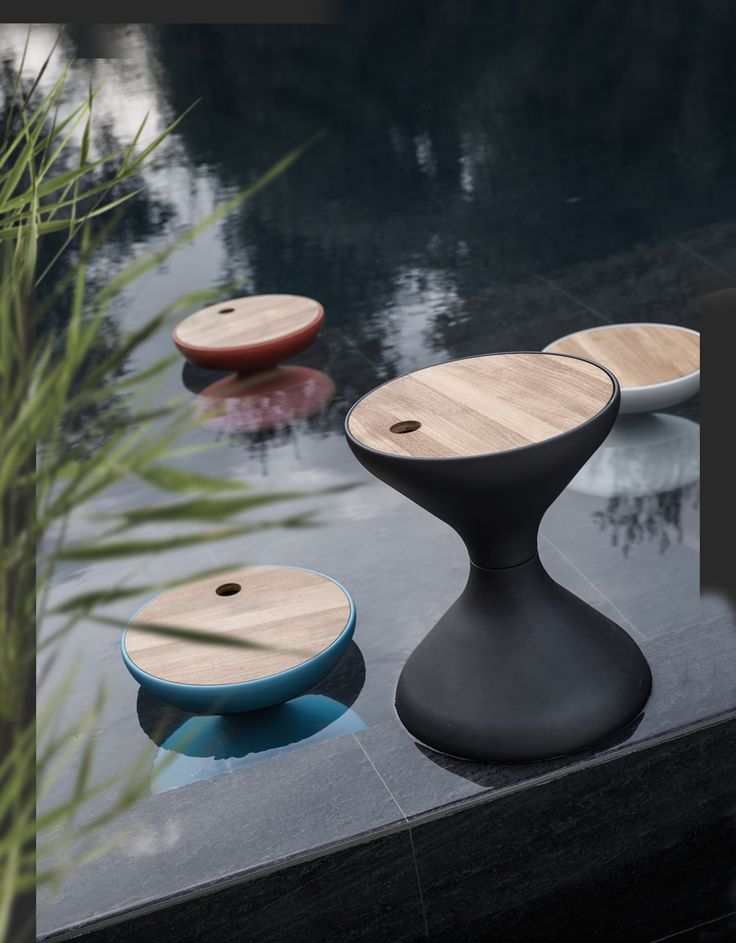 Buy Bells Side Table By Gloster U2014 The Worm That Turned   Revitalising Your  Outdoor Space Part 48
