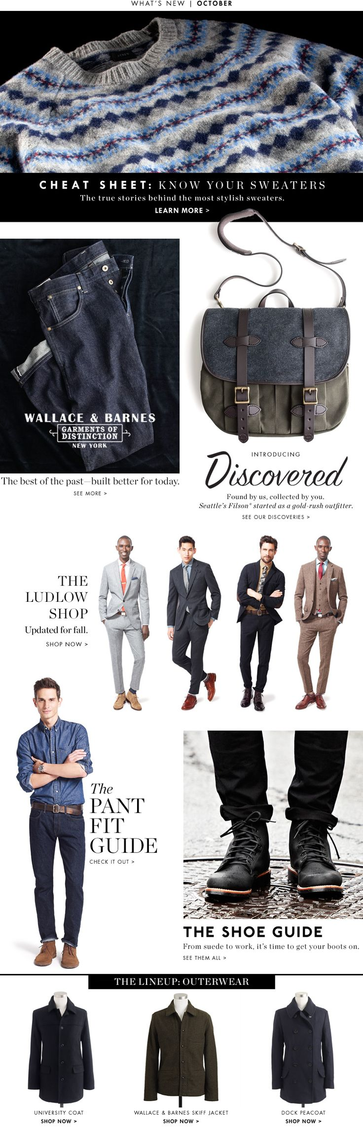 Men's Clothing - Men's Suits, Dress Shirts, Ties, Sweaters, Dress Pants, Jeans, & Accessories - J.Crew