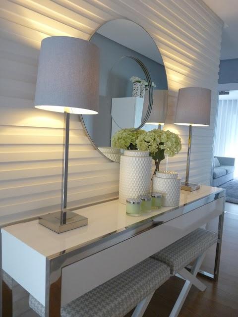 Blanco Interiores: O nosso hall, cheira a verbena!...Our foyer smells like verbena!