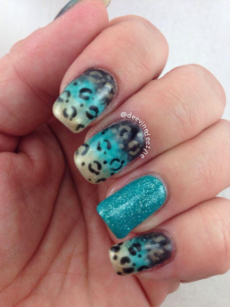 24 best sports nail art images on pinterest nail designs baby jacksonville jaguars nail art prinsesfo Choice Image