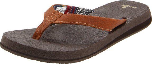 Amazon.com: Sanuk Women's Yoga Mat Primo Flip Flop: Sandals: Shoes