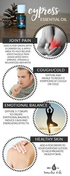 BENEFITS AND USES FOR CYPRESS ESSENTIAL OIL
