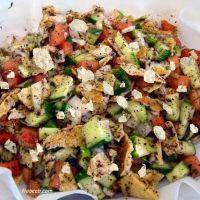 Yum! Syrian Fattoush Recipe, add the pita for my non GF family.