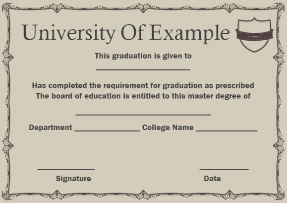The 25+ best Degree certificate ideas on Pinterest College - sample graduation certificate