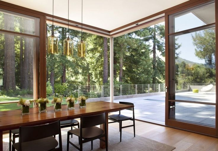 Bella Pendant by @Niche Modern: Mills Valley, Modern Dining Rooms, House Design, Valley Resident, Decoration Idea, Interiors Design, Contemporary Dining Rooms, Ccs Architecture, House Idea
