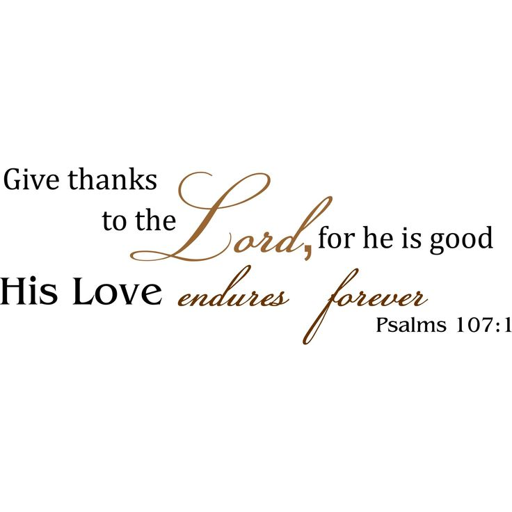 We bring inspiration to your home with vinyl wall art. You will find written instructions, and a application stick with every order. Title: Psalms 107 Colors/finish: Black and Copper Materials: Indoor