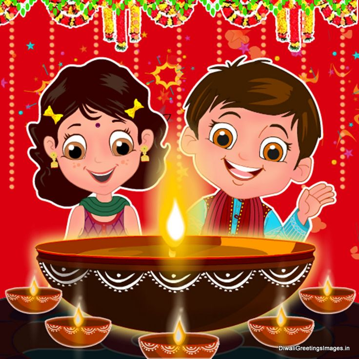 funny collection of Cute Diwali Cartoon Images 2015, Best Happy Diwali Greetings Images for Kids