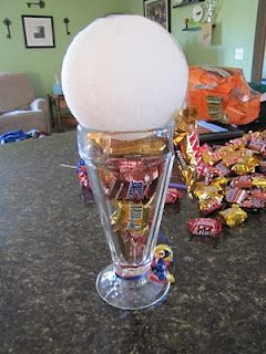 sundae candy bouquets I got one of these once, made my whole week!