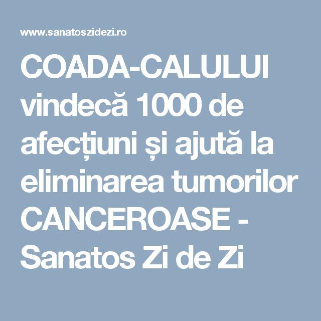 COADA-CALULUI vindecă 1000 de afecțiuni și ajută la eliminarea tumorilor CANCEROASE - Sanatos Zi de Zi