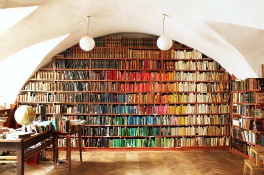 The Rainbow Library, 2011 © Peter Puklus / Banska Stiavnica Courtesy of the Artist