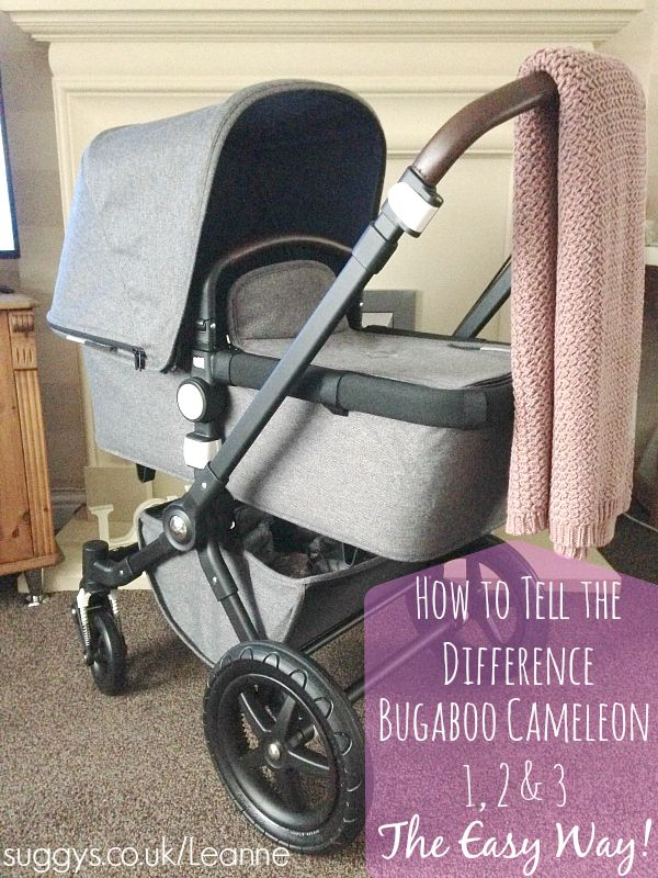 Bugaboo Cameleon differences //