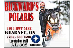 Rickward's Small Motors Inc. - Bronze Sponsor 2015