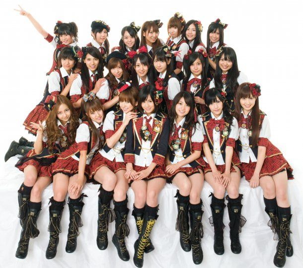 """AKB48 - """"Bizarre Android malware disrupts bizarre Japanese girl-band election"""" via Boy Genius Report - (ABK48 has a rotating lineup of 64)"""