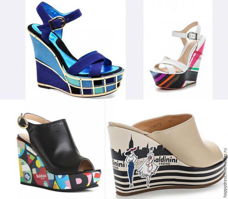 Делаем модную обувь из старой, или Что делать, когда Балдинини не по карману - Ярмарка Мастеров - ручная работа, handmade