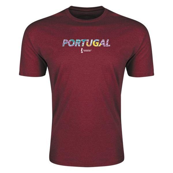FIFA Beach World Cup Bahamas 2017 Portugal Supersoft T-Shirt (Maroon)