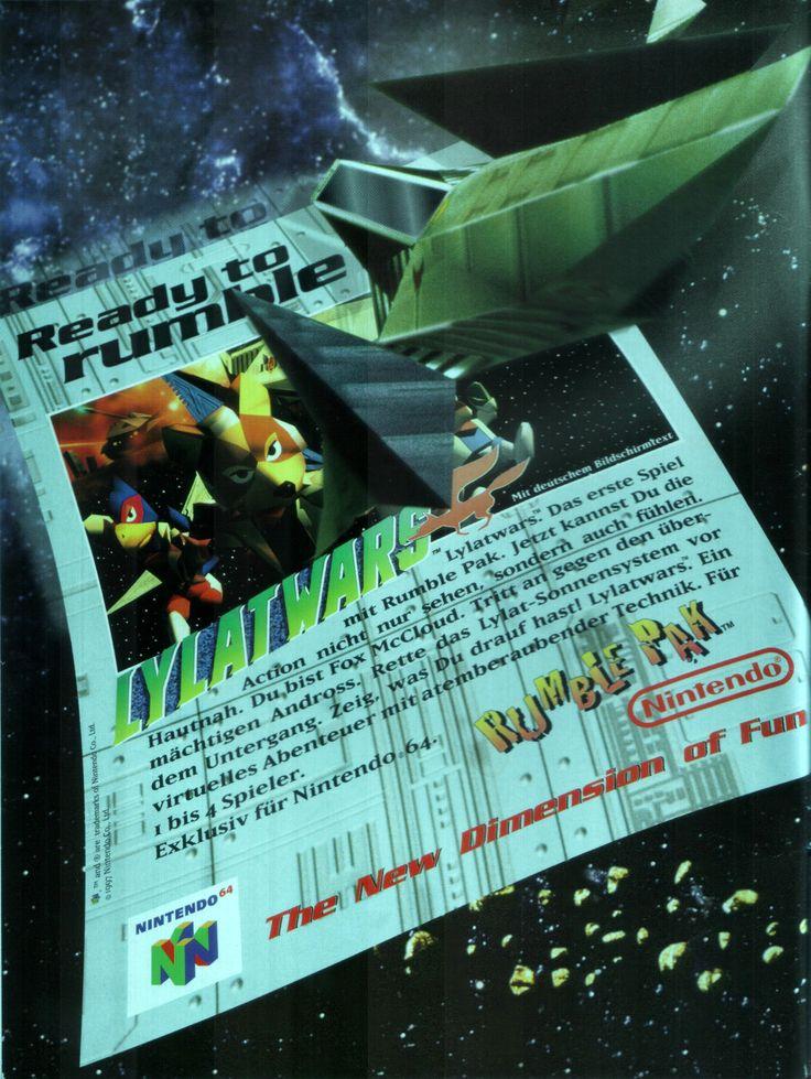Star Fox 64(1997) • Scan from: Club Nintendo_05_1997 • Platform: Nintendo 64, Wii Shop, Wii U • Genre: Action, Shooter • Developer: Nintendo EAD • Publisher: Nintendo