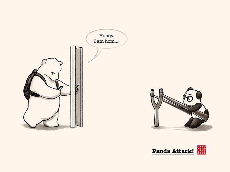 Panda Attack! | Panda and Polar Bear