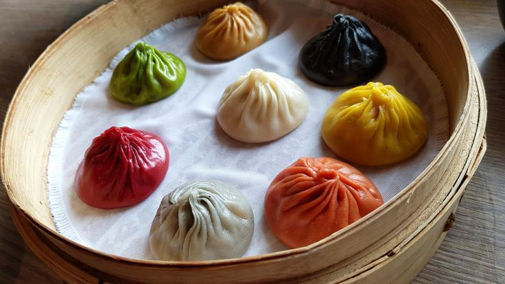 [I ate] Colourful xiao long bao's