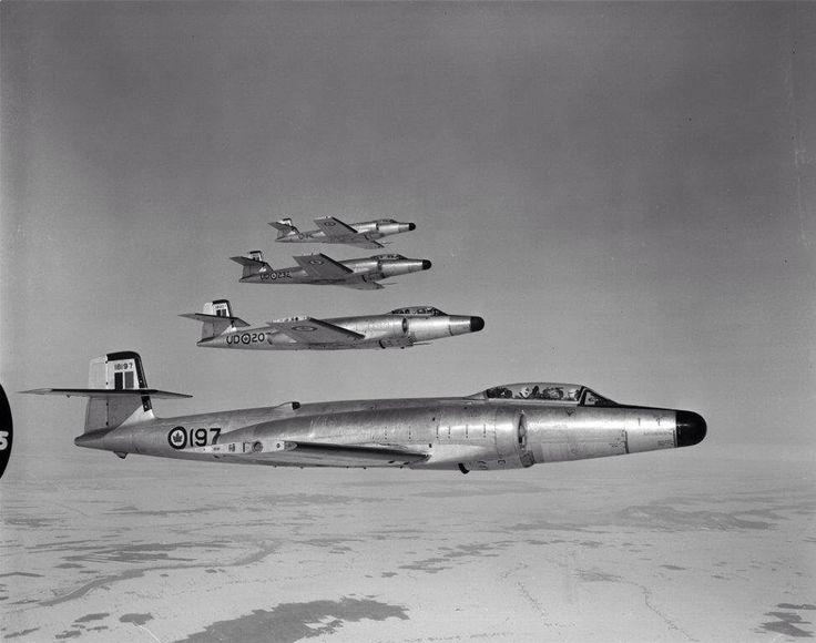CF-100 Canuck (nicknamed 'Clunks')