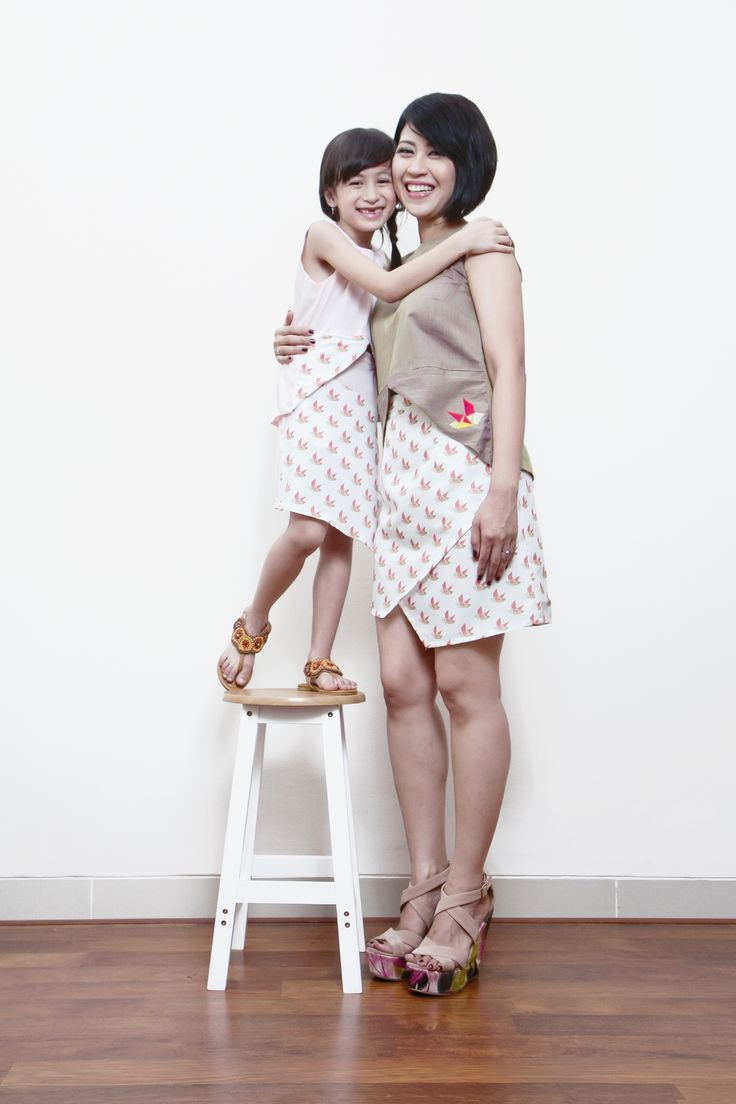 Rockabily Crop Top // Dekora Asymmetric Skirt
