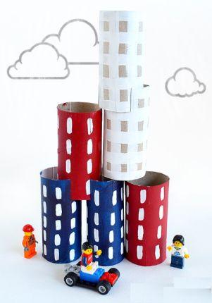 Mini Şehir Merkezi Yapıyorum- KENDİN YAP, ÖĞREN, EĞLEN! #kendinYap #DIY