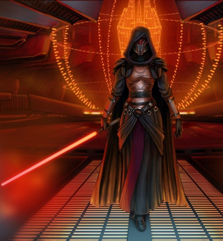 Darth Revan *(woman form) That was me in SW KOTOR game. XD Now he is just a guy. Yay for setting back women again.