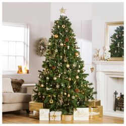 Buy Festive 8ft Majestic Pine Christmas Tree from our Christmas Trees range - Tesco.com