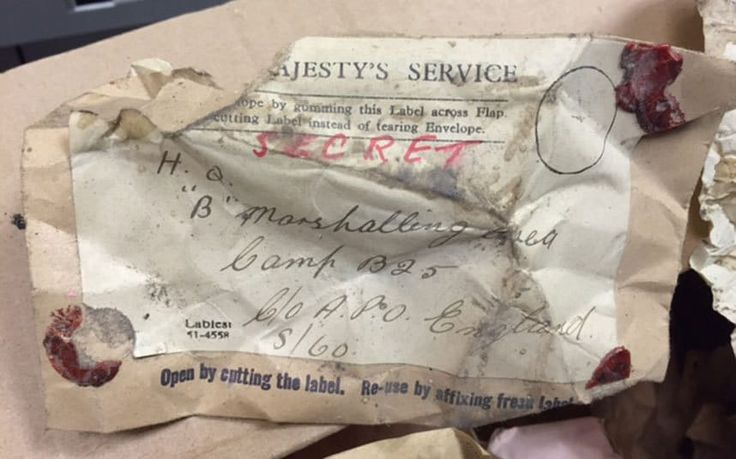 Yellowing documents marked 'On His Majesty's Secret Service', were found   during refurbishments of The Balmer Lawn Hotel in Brockenhurst