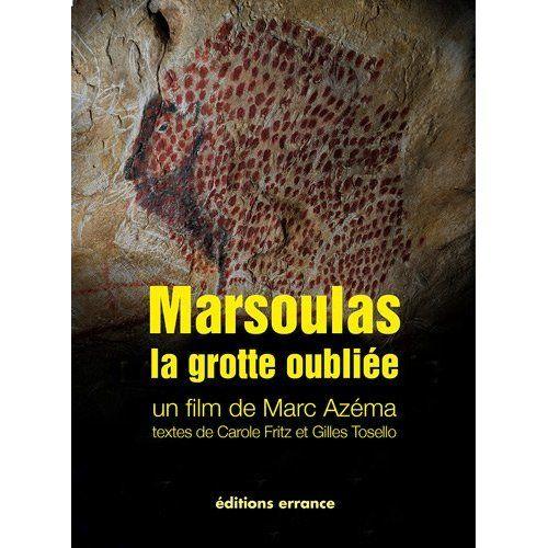 Marsoulas - un intéressant livre sur la grotte dont une restitution a été faite au parc de la préhistoire de Tarascon-sur-ariège