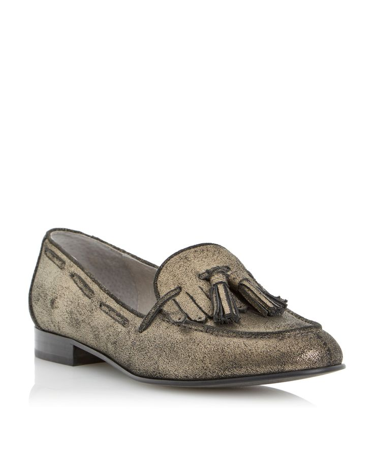 Luda Tassel Loafers, £79, Dune