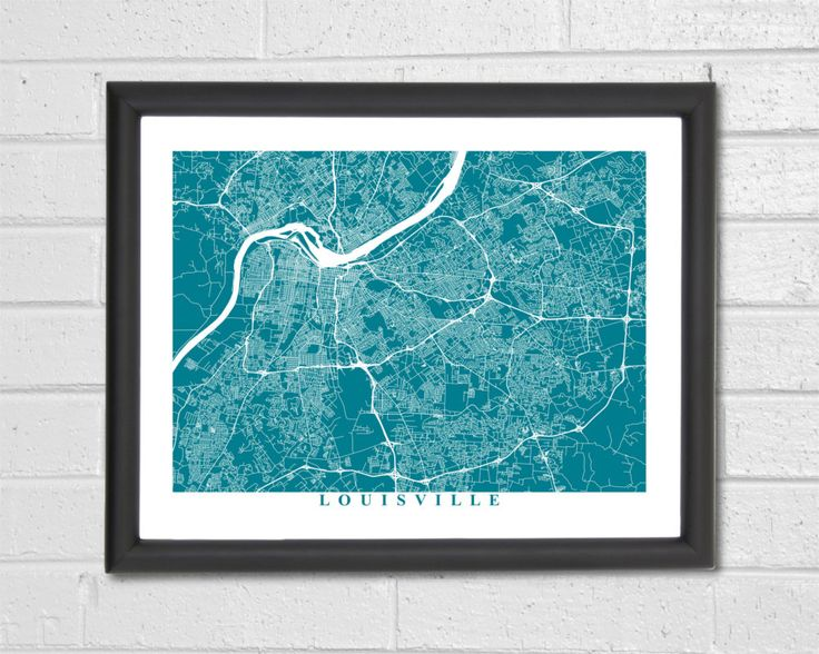 55 best customized map art prints city streets map art map louisville map art map print kentucky custom map home wedding gift travel housewarming gift map gift home decor street map publicscrutiny Images