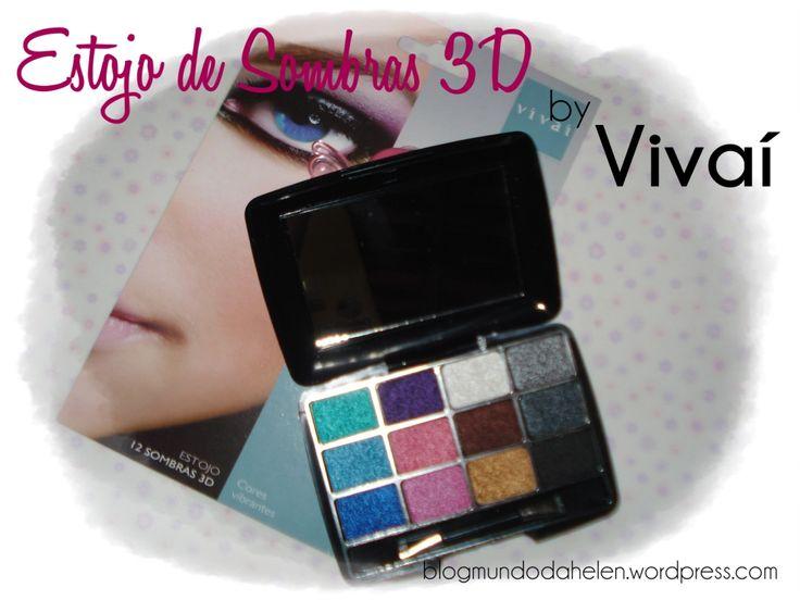 Estojo de Sombras 3D by Vivaí http://wp.me/p1x69g-1jp