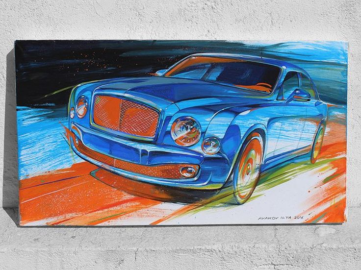 Bentley Mulsanne by Ilya Avakov #art #artsociety #paperdraw #painting #paintingoftheday #drawingskills #drawingoftheday  #brushes #ilyaavakov #russiancar #bentleymulsanne #autoart #automotive #bentley #automotiveart #artavakov #avakov #artcar #drawings #paint #sketch #sketchcar #carpainting #carart #society6 #ilyaavakovart #car #sketchbook #illustration #carartspot