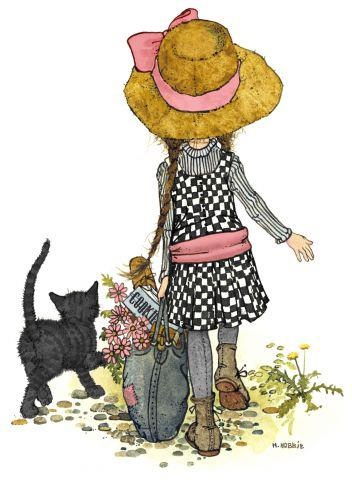 Illustration by Holly Hobbie