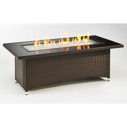 Outdoor Greatroom Montego Balsam Fire Pit Table With Free Burner Cover Hayneedle