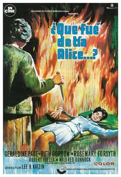 "¿Qué fue de tía Alice? (1969) ""What Ever Happened to Aunt Alice?  Lee H. Katzin, Bernard Girard - tt0065206"