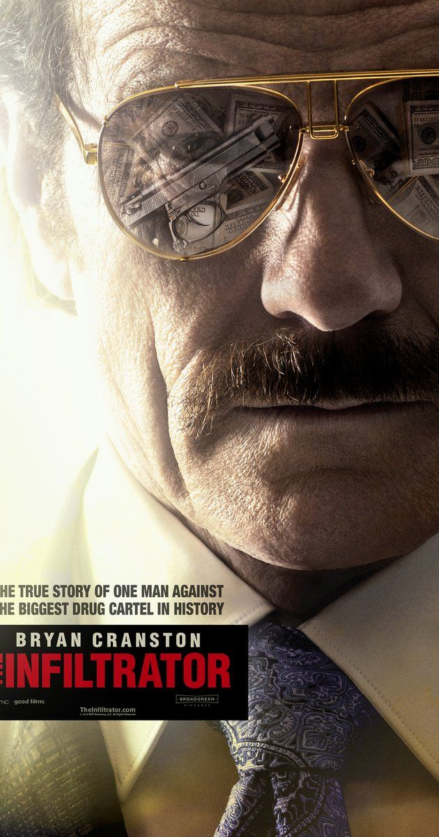 Directed by Brad Furman.  With Bryan Cranston, John Leguizamo, Diane Kruger, Amy Ryan. A U.S. Customs official uncovers a money laundering scheme involving Colombian drug lord Pablo Escobar.