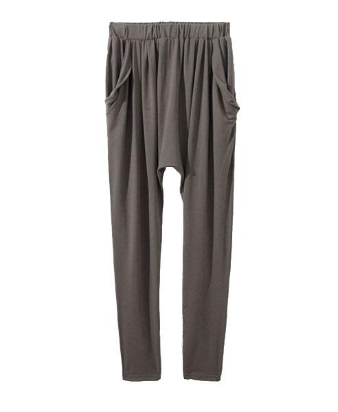 Hareem Pants with Drape Pockets from Chicnova