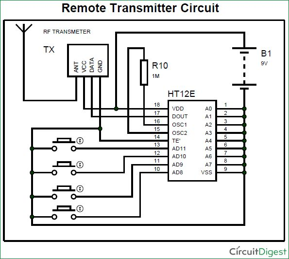 Circuit Led And Display Indicator Electronics Projects Circuits